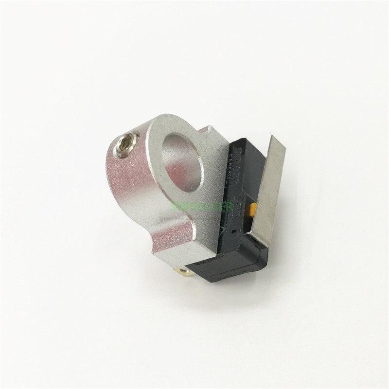 En alliage Daluminium noir/argent Z-butée finale SUPPORT + butée finale kit 8mm tige lisse axe Z butée finale Reprap Mendel Prusa i3 rework 3D imprimante