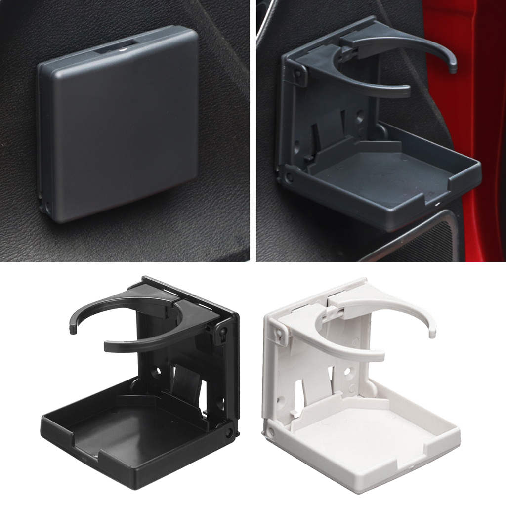 Easy Folding Cup Drink Holder Can Bottle Tray For Car Truck Boat Yacht SUV Van