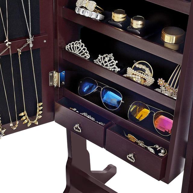 Wooden Jewelry Storage Box 2