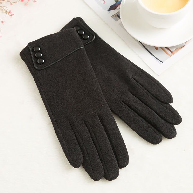 SPARSIL Windproof and Warm Touch Screen Gloves Made of Velvet Suitable for Any Touch Screen Device 2