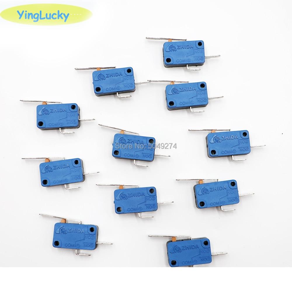 1pcs Micro switch, arcade push button, arcade joystick, zippy joystick, micro switch replacement,(China)