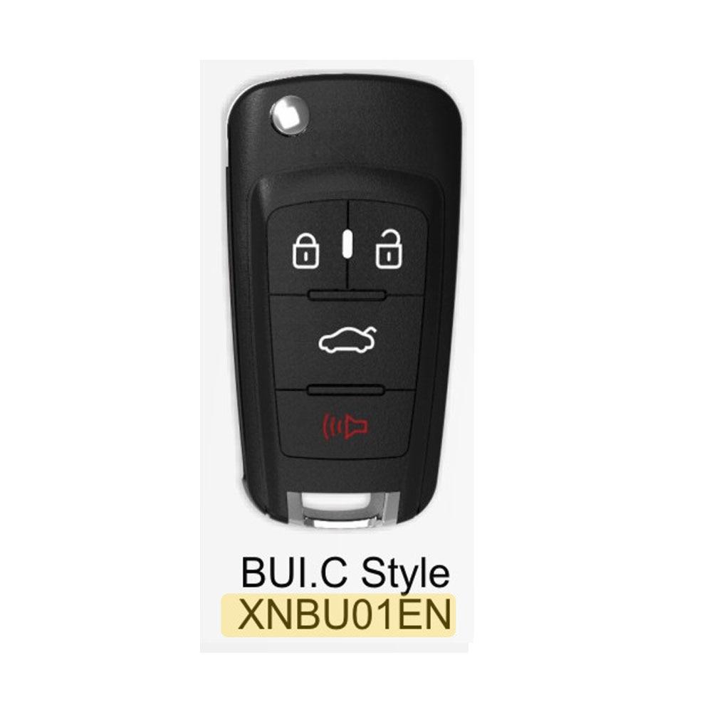 Беспроводной универсальный дистанционный ключ XHORSE XNBU01EN английская версия работает с мини-ключом VVDi