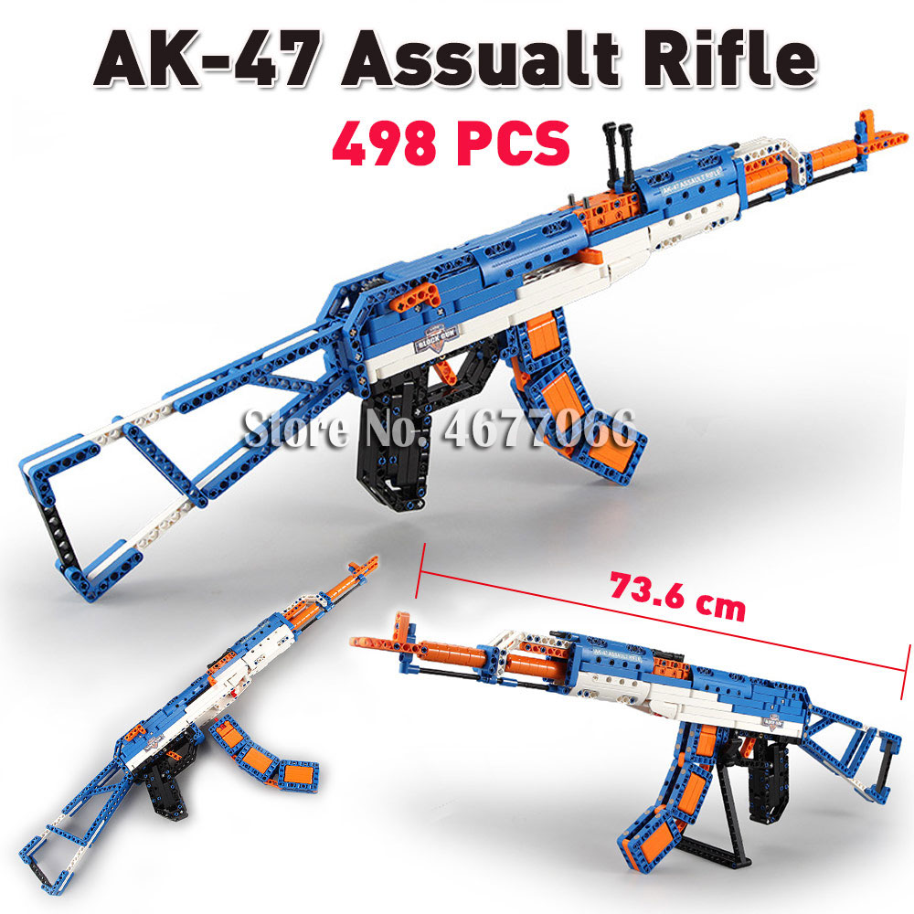 AK47 Rifle - 498 PCS