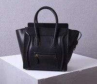 2021 hohe-ende klassische rindsleder handtasche smiley gesicht tasche mode schulter umhängetasche große kapazität handtasche