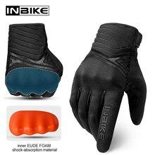 INBIKE Hard Shell Schutz Motorrad Handschuhe Männer Stoßfest Verdicken TPR Palm Pad Motorrad Handschuhe für Reiten Motocross Handschuhe