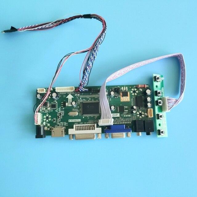 "Kit for LTN121W4 L01 VGA DVI Monitor M.N68676 Controller board Panel Screen LED DIY LVDS 40pin 12.1"" 1280X800 HDMI LCD"