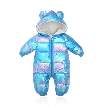 Baby Romper Autumn Winter Warm Newborn Baby Boys Clothes Baby Jumpsuit Hooded Snowsuit For Girls Overalls Unisex Baby Clothes winter rompers baby girl newborn clothes children boys girls jumpsuit kids down cotton overalls snowsuit hoodies warm clothing