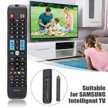 Reemplazo de Control remoto de televisión de plástico negro para Samsung RM-D1078 y 1 230X45X20mm