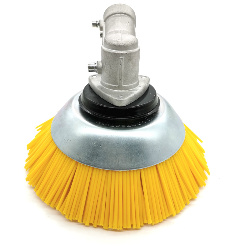 8 Inch Grass Trimmer Head  Nylon Straw Rope Trimming Head Rusting Brush Cutter Mower Streng Nylon Weeding Head for Lawn Mower