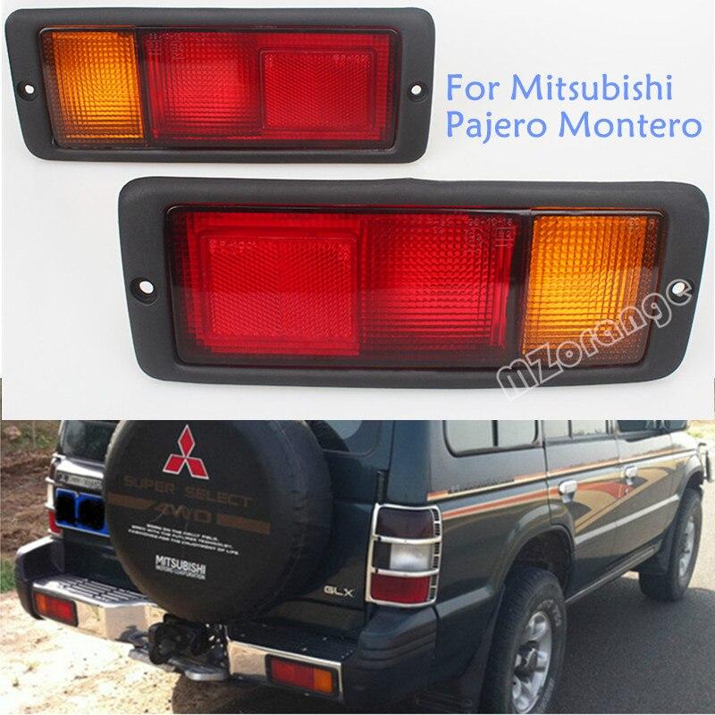 Lâmpada Da Luz Da Cauda traseira MB124963 MB124964 214-1946L-UE 214-1946R-UE Apto para Mitsubishi Pajero Montero 1992-1999 Left & Right