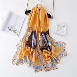 New European and American Classic Pattern Fashion Scarf Sunscreen Scarf Winter Decoration Warm Shawl women scarf  hijab woman