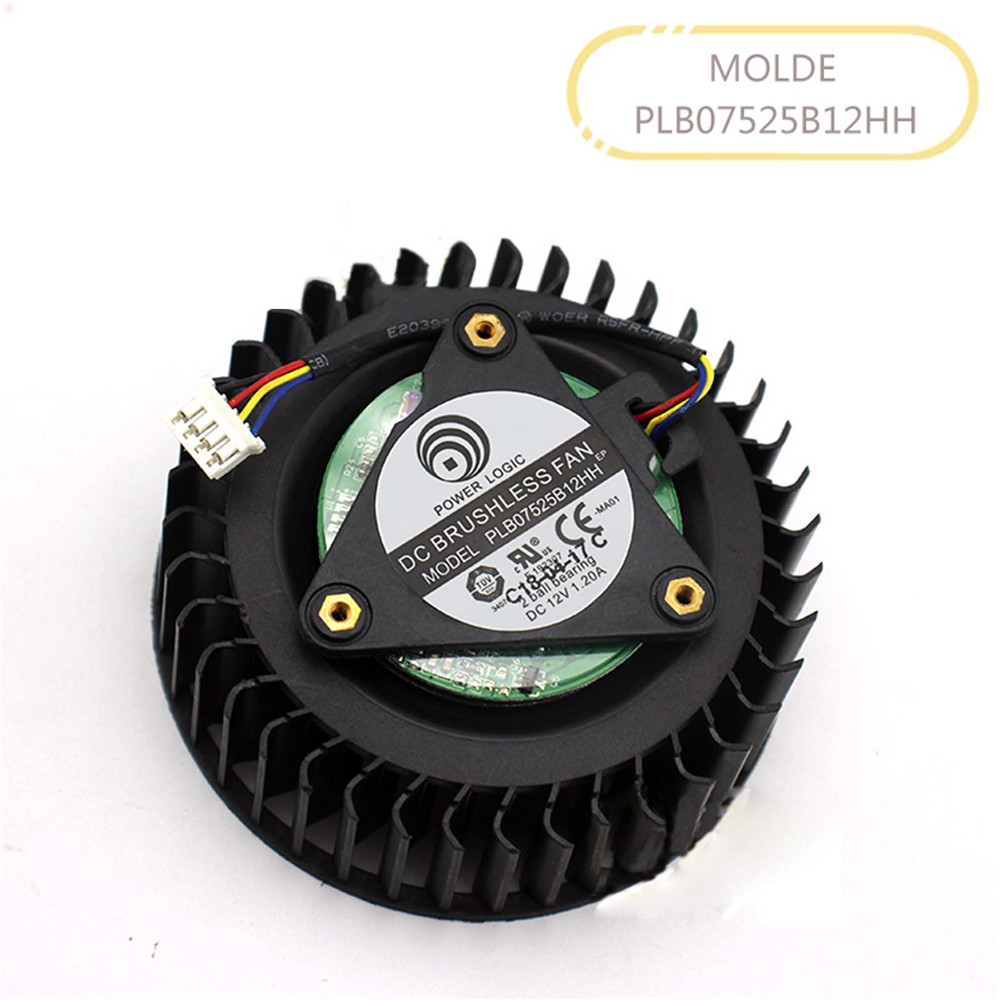 Replacement Graphics Card Turbine Cooling Fan <font><b>Cooler</b></font> for RX <font><b>VEGA</b></font> <font><b>56</b></font> AIR BOOST 8G OC Public Version Cooling Fan Accessories image