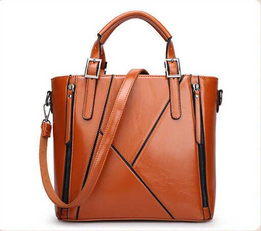 100% en cuir véritable femmes sacs à main en gros 2019 nouveau sac de couture diagonale unique sac à bandoulière sac à main sac sortie explosion