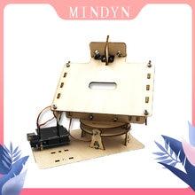Набор для самостоятельной сборки деревянных электронных двухосевых