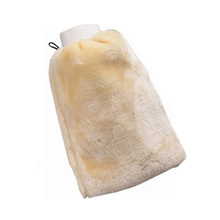 Car Wash Gloves Artificial Wool Double-sided Washing Wiping Detailing 24*16*3cm