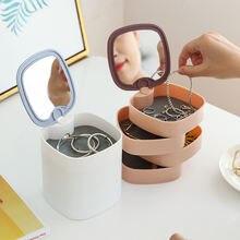 360 градусов вращающийся ящик для хранения пластиковые настольные