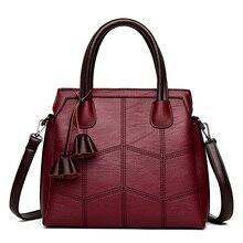 3 wichtigsten Tasche Damen Hand Taschen Für Frauen 2020 Designer Handtaschen Hohe Qualität Echtes Leder Luxus Handtaschen Frauen Taschen Sac EIN Haupt