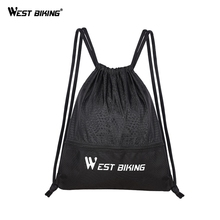 WEST BIKING Bicycle Cycling Bike Rope Bag For Outdoor Hiking Sport Cycling MTB Road Mountain Bicycle Bag Bike Accessories 40l large professional bicycle bag pack outdoor accessories riding cycling backpack female male hiking mountain bike rucksack