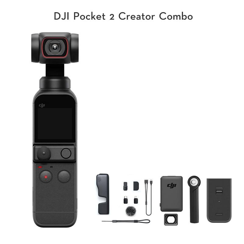 DJI карман 2 с 8x зум ActiveTrack 3,0 1/1. 7-ми дюймовый сенсор 64MP изображения камера Оригинальный бренд новый в наличии
