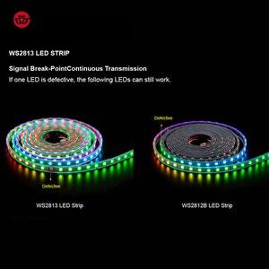 Image 2 - WS2813 dẫn dải điểm ảnh 1 m/4 m/5 m Dual tín hiệu 30/60/144 pixels/đèn led/m, WS2812B Cập Nhật Đen/Trắng PCB, IP30/IP65/IP67 DC5V