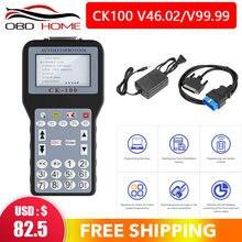 Auto klucz programujący CK100 brak żetonów ograniczona CK-100 Key Maker V46.02/V99.99 najnowsza generacja SBB CK100 obsługa wielu języków