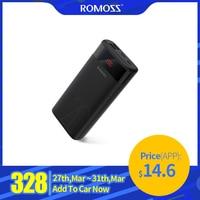 Romoss Ares 20 20000 Mah Power Bank Usb Type Draagbare Oplader Externe Batterij 5V 2.1A Met Led Display Voor telefoons Tablet-in Power Bank van Mobiele telefoons & telecommunicatie op
