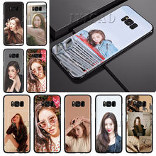 IYICAO Sunmi LEE Kpop Girl Soft Silicone Case for Samsung S6 S7 S8 Edge S8 S9 S10 Plus S10e Phone Cover(China)