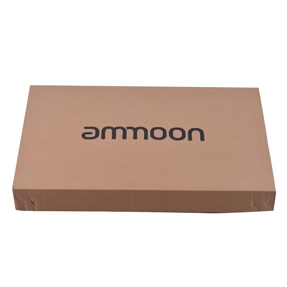 Ammoon TL Tele kit de bricolage de guitare électrique non fini corps de tilleul Surface de ronce touche de cou en bois d'érable avec micro-bobine simple - 6