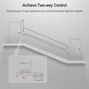 Image 5 - Sonoff Mini R2 Wifi Smart Switch Zwei Weg Control Smart Home Automation Module Wireless Timer DIY Schalter Über EWelink APP alexa