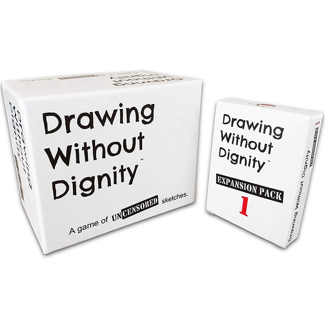 Drawing Without Dignity A NEW Adult Party Card Game of Uncensored Sketches Board Groups Families Friends Parties Gathering Gift 1