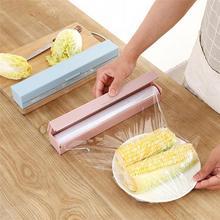 Пластиковые дозаторы для обертывания прочный диспенсер для обертывания пищевых продуктов свежая пищевая пленка резак кухонный держатель для хранения инструментов