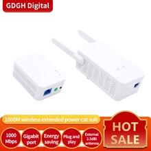 GLVISION GLPH5 1000MbpsชุดGigabitอะแดปเตอร์สายไฟอะแดปเตอร์เครือข่ายPowerline AV1000 Ethernetอะแดปเตอร์PLC IPTV Homeplug AV2
