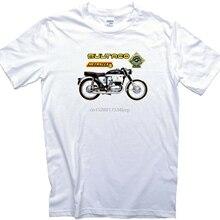 T-Shirt. Bultaco Motorrad Round-Neck Print Bike Herren Damen Metralla Ouml Szlige Mk2
