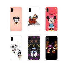 Voor Samsung Galaxy J1 J2 J3 J4 J5 J6 J7 J8 Plus 2018 Prime 2015 2016 2017 Transparante Tpu Shell case Cartoon Mickey Minnie Mouse(China)
