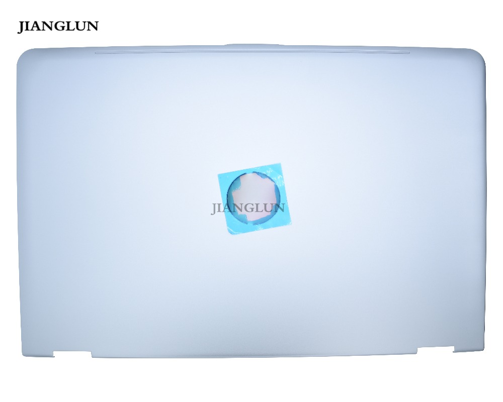 JIANGLUN Laptop LCD Back Cover For <font><b>HP</b></font> <font><b>Envy</b></font> <font><b>x360</b></font> M6 <font><b>Convertible</b></font> PC Model m6-aq105dx Silver Touch Screen Version image
