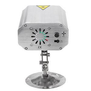 Image 2 - בקרת קול מוסיקה קצב פלאש אור DJ דיסקו שלב אור LED לייזר מקרן שלב מסיבת אורות שלב אפקט תאורה