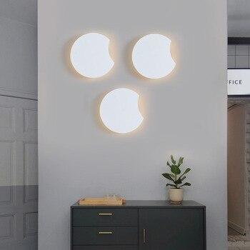 modern  wall lamp aplique luz pared rope dining room aisle  living room  home deco espelho