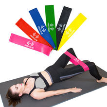 Training Fitness Gum Exercise Gym Strength Resistance Bands Pilates Sport Rubber Fitness Bands Crossfit Workout Equipment(China)