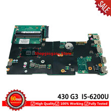 For HP 430 G3 440 G3 Laptop motherboard DDR3L I5-6200U 830937-601 831859-601 901