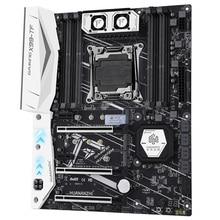 HUANANZHI X99-TF материнская плата с двойным слотом M.2 NVME поддерживает DDR3 и DDR4 LGA2011-3 и LGA 2011
