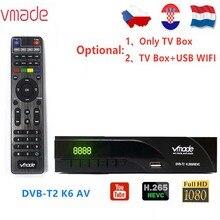 Vmade Newest DVB T2 K6 scart/AV Digital Terrestrial TV Receiver