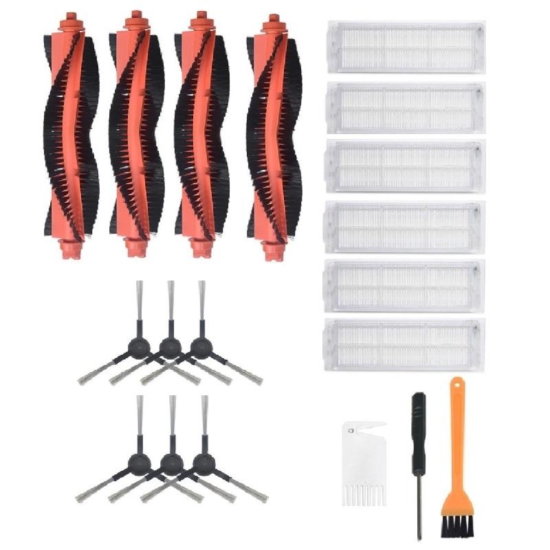 Main Brush Side Brush Hepa Filters Kit For Viomi V2 Pro Filter HEPA Mijia STYJ02YM Sweeping Mopping Robot Vacuum Cleaner