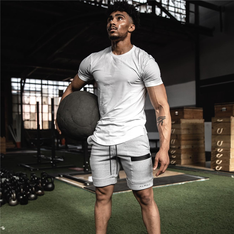2020 Casual Summer Men's Shorts Gym Sport Running Male Fitness Bodybuilding Workout Man Gym Joggers Short Pants