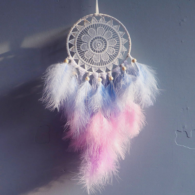 Creative New Woven Dream Catcher Nordic Style Home Decoration Wall Hanging girls