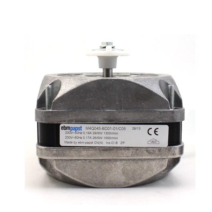 German Ebmpapst Fan M4Q045-BD01-01 230V 0.19A/0.17A Cooling Fan Supermarket Freezer Condenser Motor