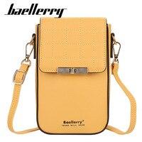 Baellerry-Bolso de hombro de verano para mujer, cartera femenina de alta calidad con bolsillo para teléfono, Bolso pequeño para chica, novedad de 2021