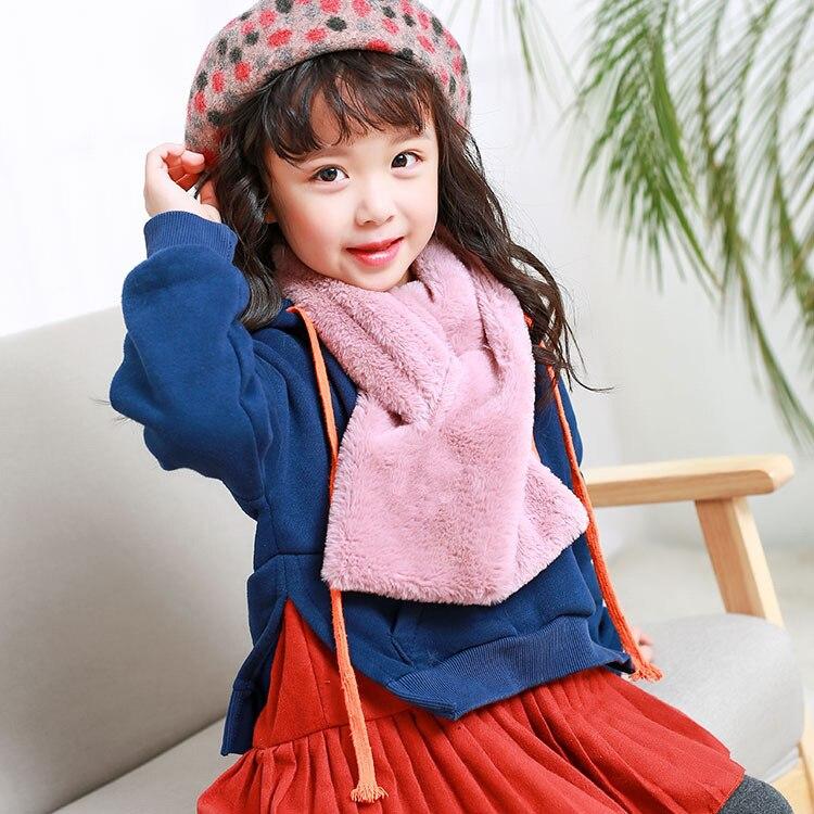 2019 New Style CHILDREN'S Scarf Korean-style BOY'S Girls Fashion Autumn & Winter Warm Baby Scarf Infant Scarf Fashion