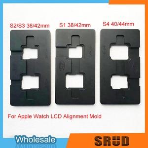 Image 4 - אלומיניום יישור מתכת עובש עבור אפל שעון 1 2 3 4 38mm 40mm 42mm 44mm LCD מגע מסך זכוכית OCA רבד יישור עובש