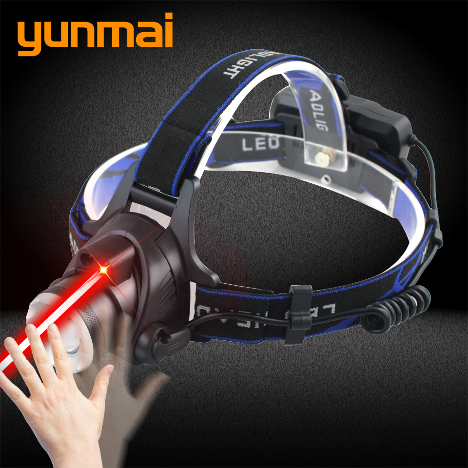 CREE XM-L2 U3 Motion Sensor Headlight Rechargeable LED Headlamp 6000lm Head T6 Flashlight Torch Lamp Light