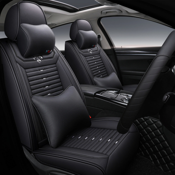 Full Coverage Eco-leather auto seats covers PU Leather Car Seat Covers for mazdamazda 6 gg gh gj mazda 626 mazda atenza mazda